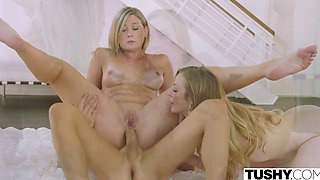 TUSHY Boss Lady Tests Her Assistants Anal Limits