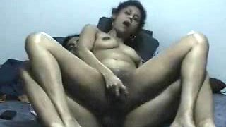 Assfucking his Indian Wife Reverse Cowgirl