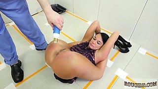 Brutal fisting bondage squirt Talent Ho