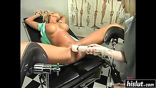 Pretty doctor and her nurse are fucking