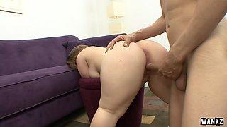 Midget girl gets sex