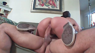 Busty doll Gianna Michaels gets her hairy muff boned hard