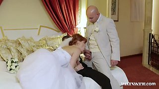 naughty redheaded bride lucy bell watch