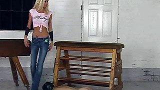 Slave Workout Session