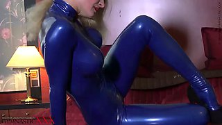 Tanya blue latex