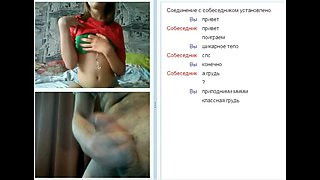WEBCHAT #11 Tits, tits, tits and my dick