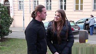 Threesome bisex cumshot