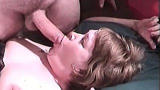 Amazing double penetration session