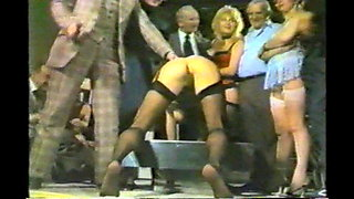 British Lady Traffic Cop at the Spanking Club