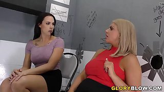 brooklyn chase and chanel preston bbc anal at gloryhole