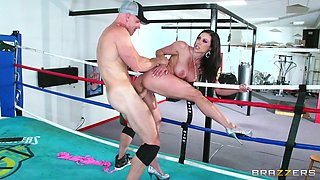 Johnny Sins bangs slutty busty pprnstar Kendra Lust