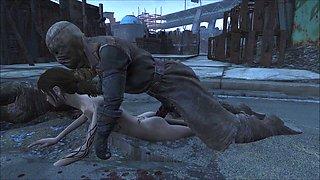 Fallout 4 Elie Pillars ambush  part 2