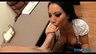 Cock Loving Asian at work