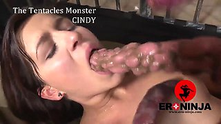 The Tentacles Monster fucks  Cindy Loarn