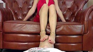 Polish girl foot worship