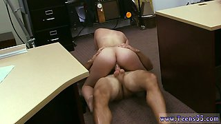 Secretary babe is craving to taste that big fat cock and get it between her legs in multiple positions