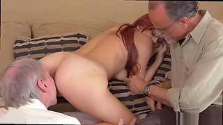 Old guy licks young pussy and 3d hentai old man young girl and old