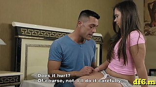hot defloration of a hot babe film
