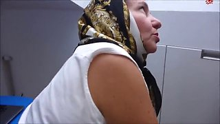German milf with sexy hijab turbanli