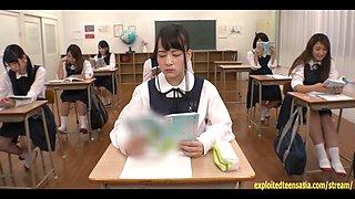 Abe Mikako Gets Massive Bukkake Face In Classroom Continual Cumshots Fantastic Jav Scene