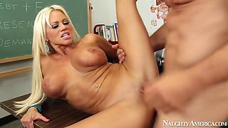 Nikita Von James & Johnny Castle in My First Sex Teacher