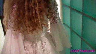 Russian Bride fucked hard live at LickaToad