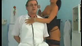Busty Doctor Gets Fucked