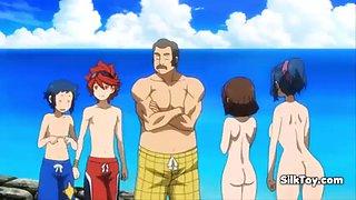 hentai big tits sluts on beach