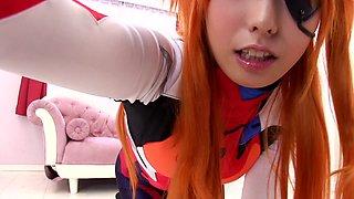 Anime Heroine Playing Dirty