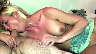 German Mature Bi Jenny caught Sister Fuck and Join in 3some