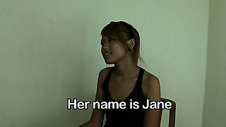 Jane, a cute Asian minx, used to have a full name. It was