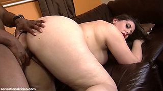 1080p Adriana Avalon Gets Excited And takes Creampie From BBC