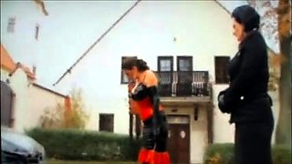 Slave Cleans Car Then Mistress Boots See pt2 at goddessheels