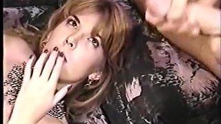 Vintage 2003 Blowjob and Facial Cumshot Compilation