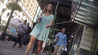 New York upskirt 2