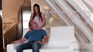 Crazy pornstar Gabriella Daniels in Incredible Romantic, Small Tits adult clip