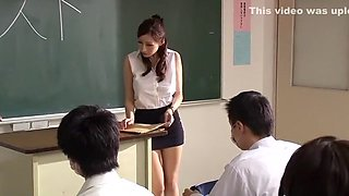 Horny Japanese chick Julia in Hottest POV, Cougar JAV movie