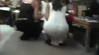 Big booty Indian broad caught in a street candid video