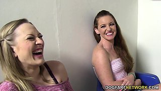 Vicky Vixen And Emily Eve - Gloryhole