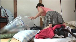 son and step mom video 1 part 1