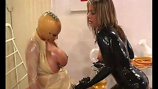 Rubberclinic - Piss Drink and Strapfuck