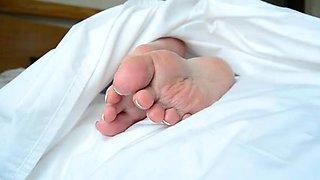 Bella Jaimes Bedtime Foot Play