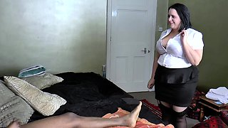 AgedLovE Busty Hotel Maid Lacey Starr