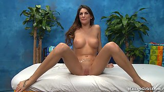 Nice tits, long legs, cute and fucking