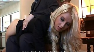 Adrienne black&#39s corporate spanking
