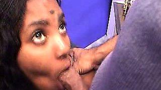 Exotic Indian model Nandi is proud of her smoking hot desi