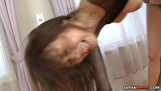 Creampied pussy to reward teen Sara Seori