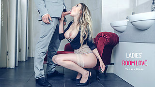 Tamara Grace in Ladies' Room Love - OfficeObsession