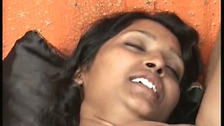 Chubby Indian girlfriend enjoys pussy licking by her boyfriend