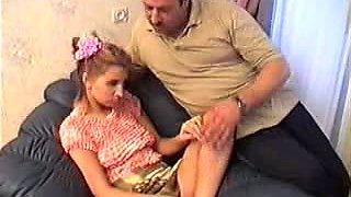 Daddy fuck his neighbor teen